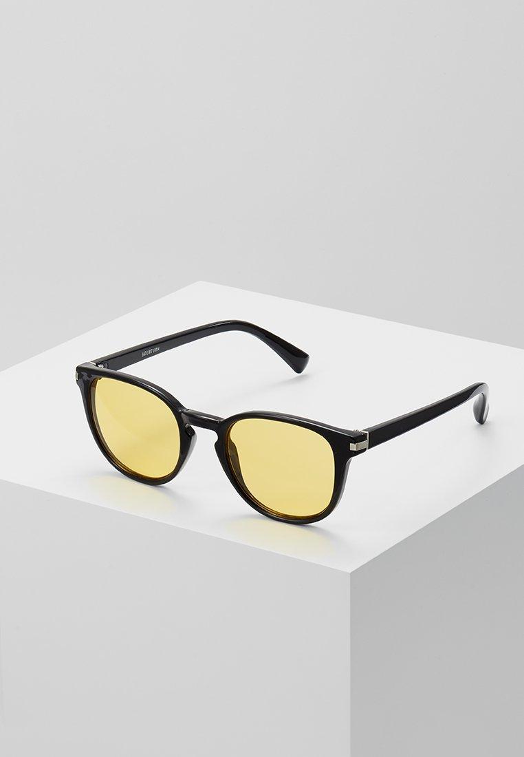 YOURTURN - Okulary przeciwsłoneczne - black/yellow