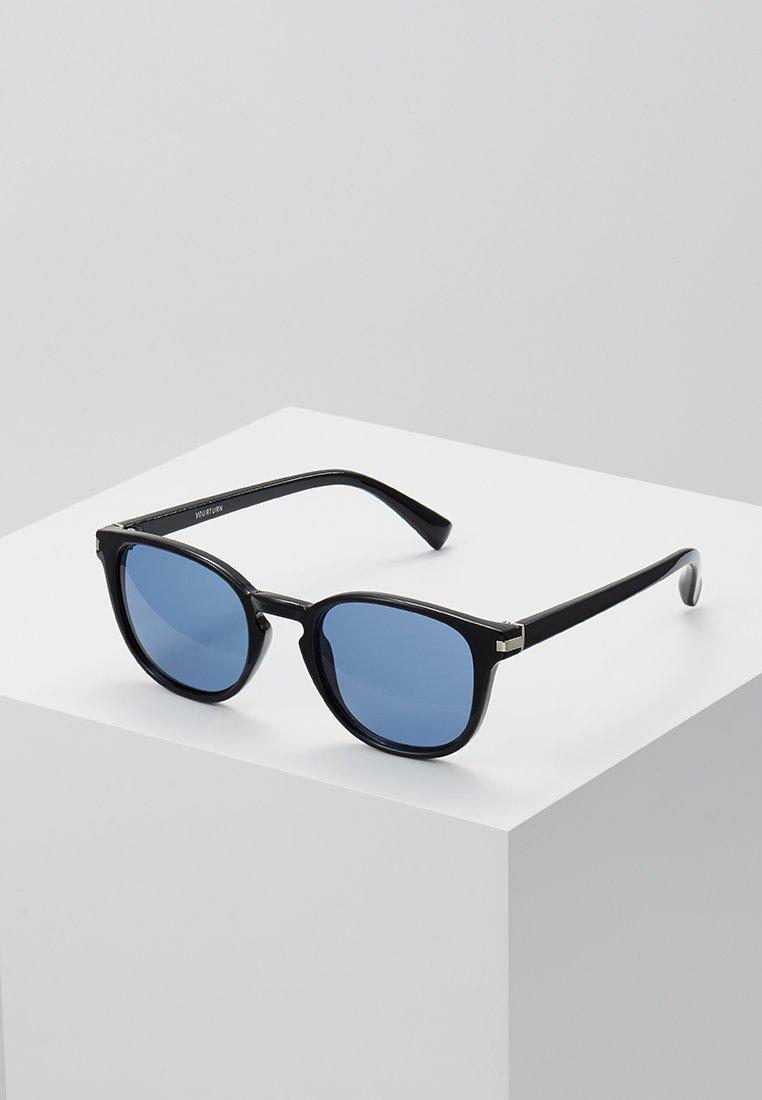 YOURTURN - Okulary przeciwsłoneczne - black/blue