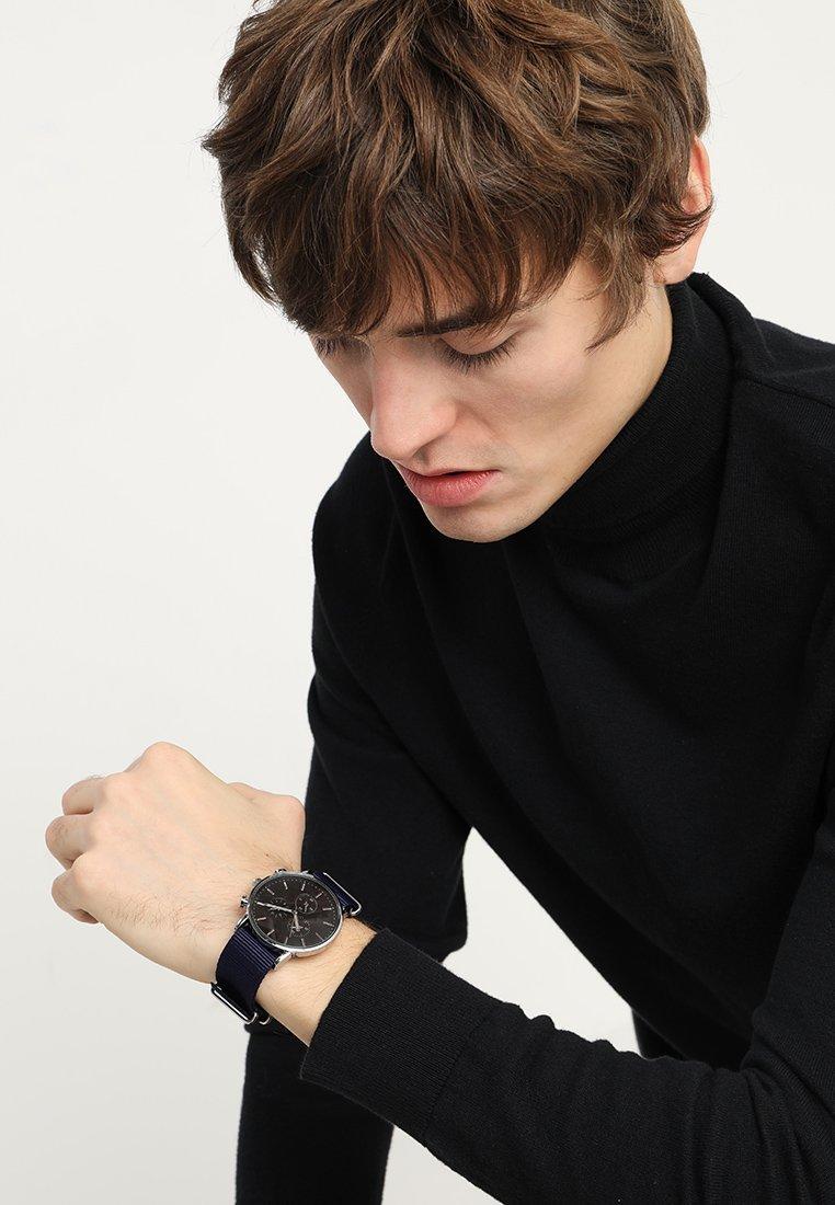YOURTURN - Uhr - silver-coloured/dark blue