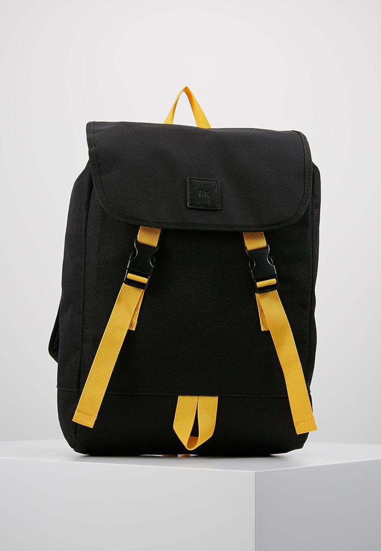 YOURTURN - Mochila - black/yellow