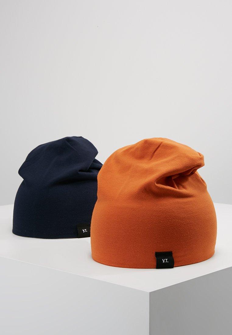 YOURTURN - 2 PACK - Mütze - dark blue/orange