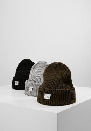 3 PACK - Mütze - black