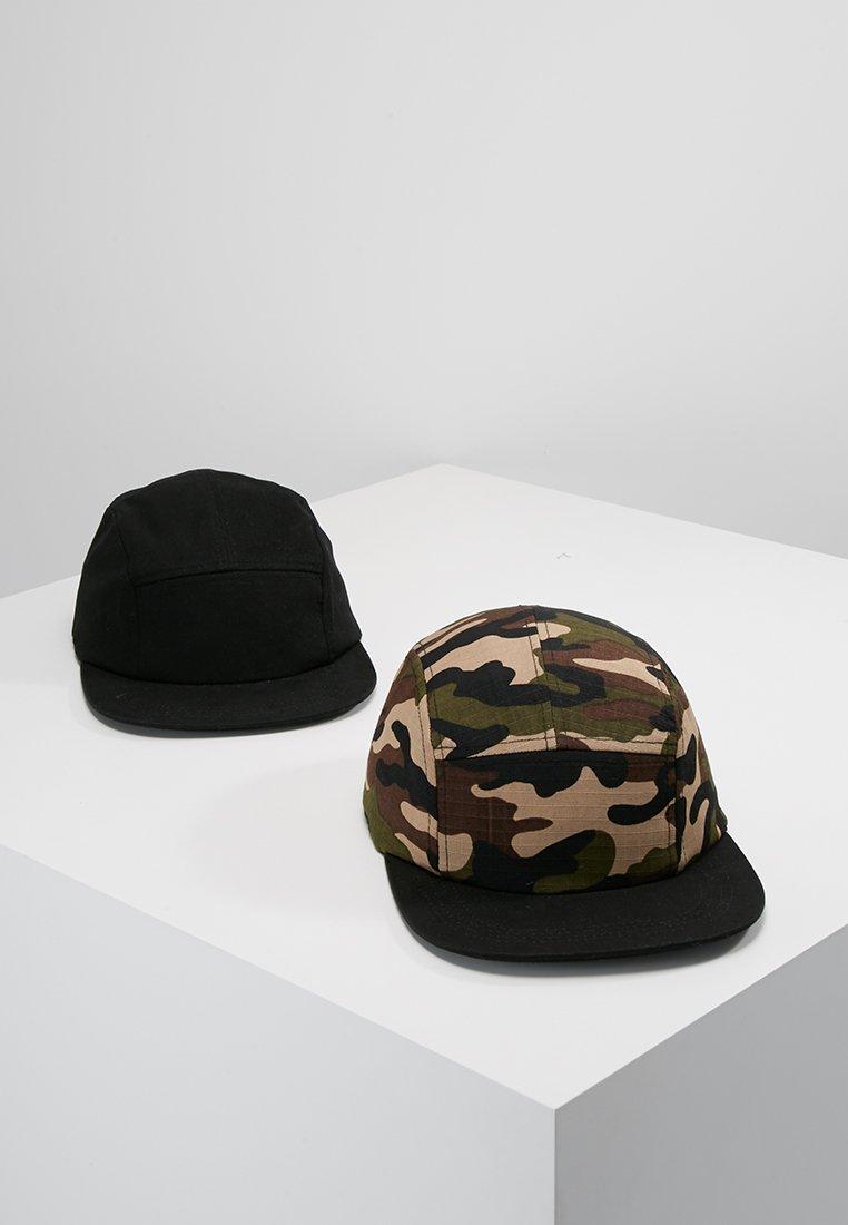 YOURTURN - 2 PACK - Caps - oliv/black