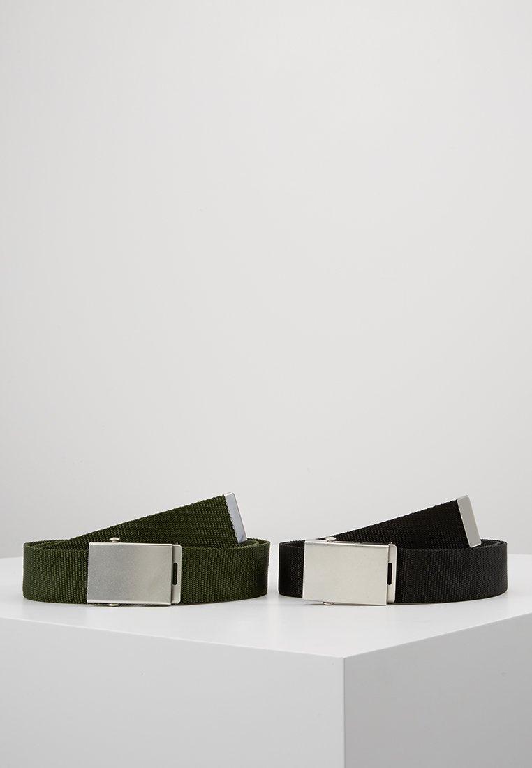 YOURTURN - 2 PACK - Gürtel - black/green