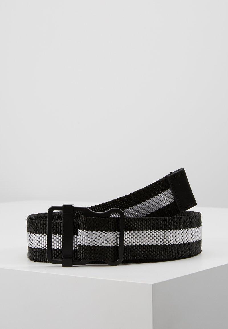 YOURTURN - Gürtel - black/white