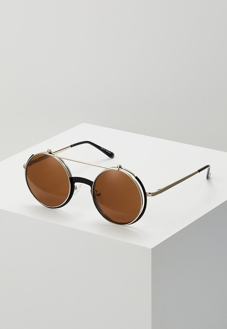 YOURTURN - Lunettes de soleil - brown/gold-coloured