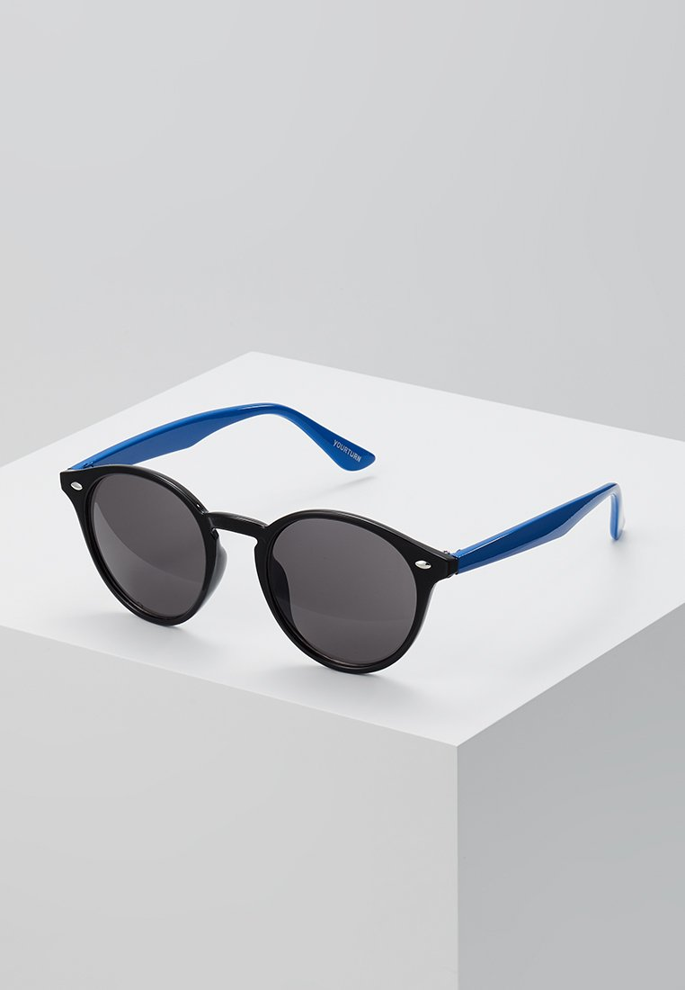 YOURTURN - Sunglasses - black/blue