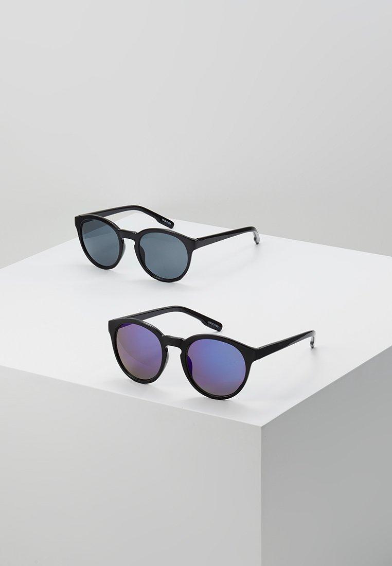 YOURTURN - 2 PACK - Gafas de sol - black/blue