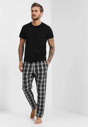 Pijama - black/white