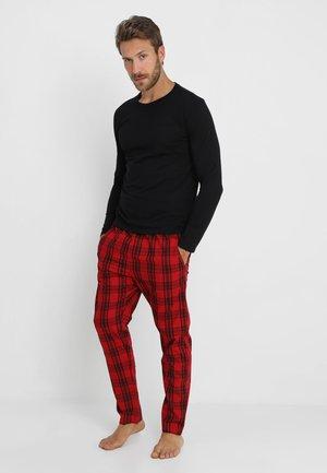 Pijama - black/red