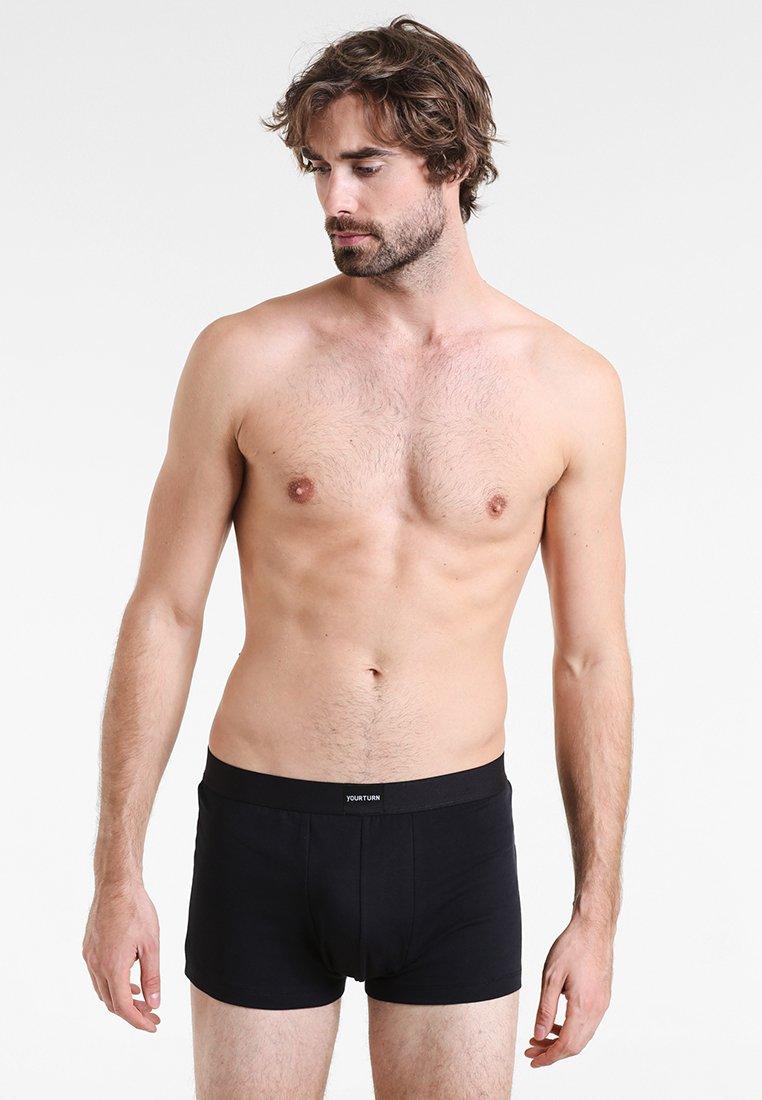 YOURTURN - BASIC TRUNK 10 PACK  - Pants - black
