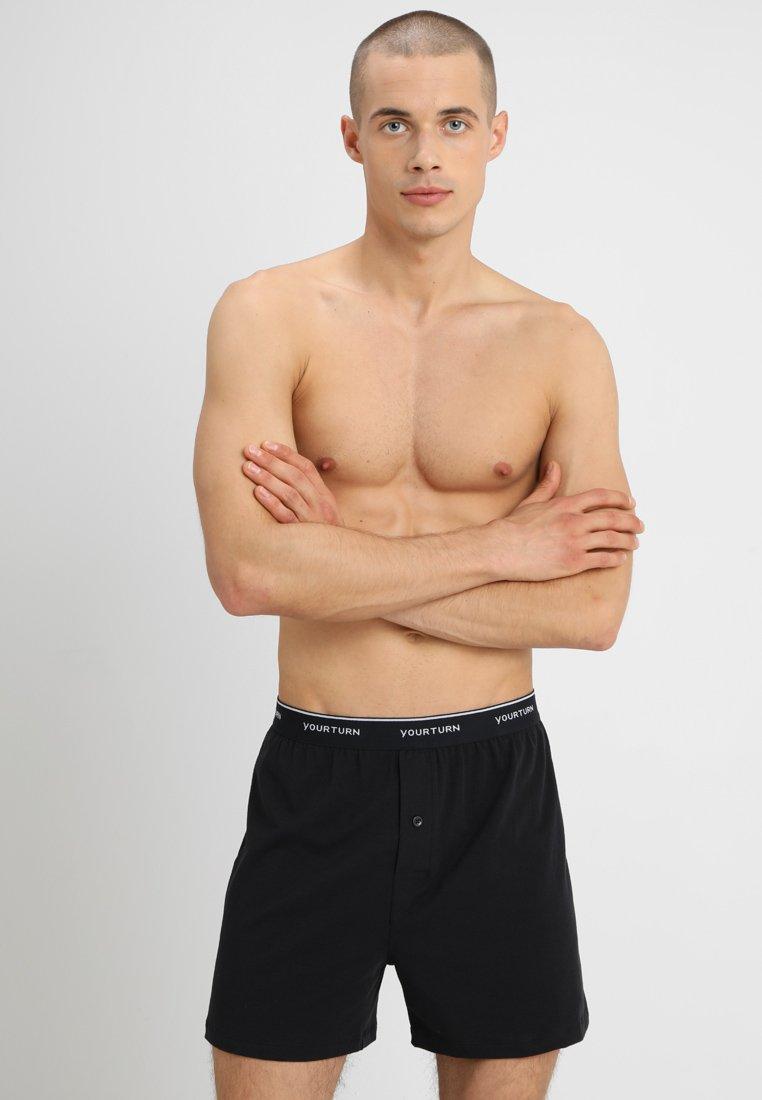 YOURTURN - 3 PACK - Boxershorts - black