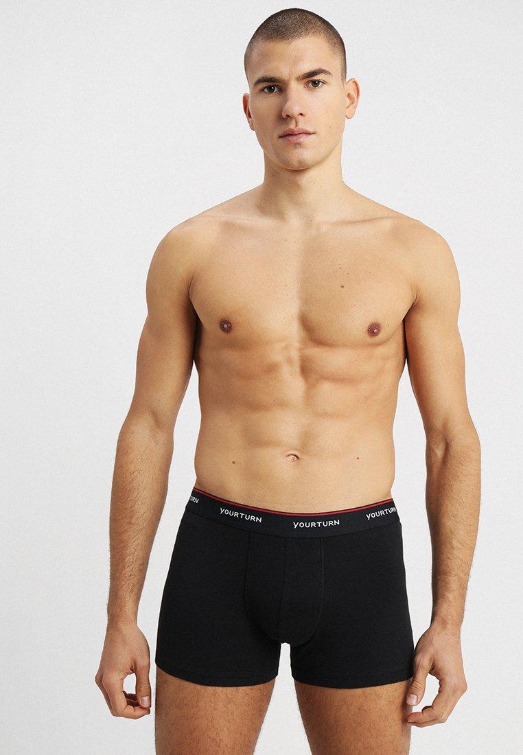 YOURTURN - 10 PACK   - Underkläder - black