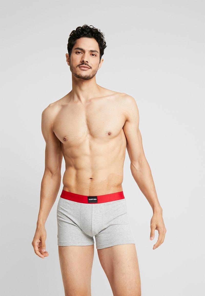 YOURTURN - 3 PACK - Underkläder - light grey/black