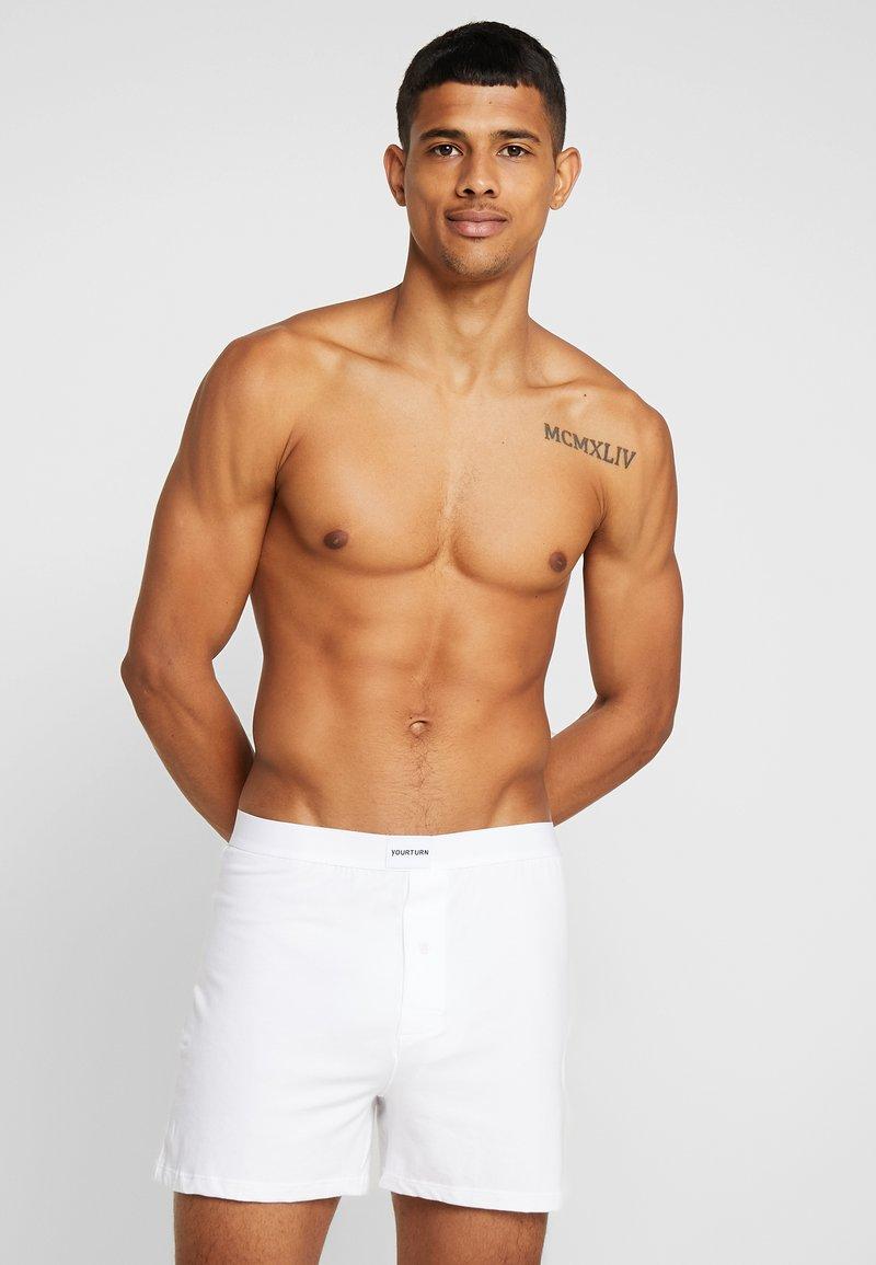 YOURTURN - 5 PACK - Boxershorts - white