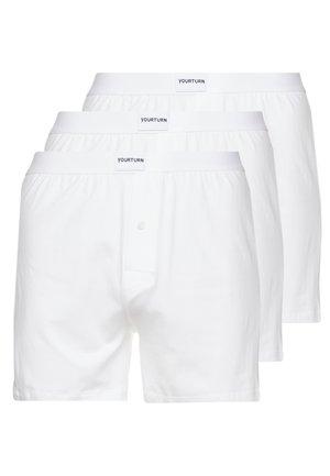 3 PACK - Boxershorts - white