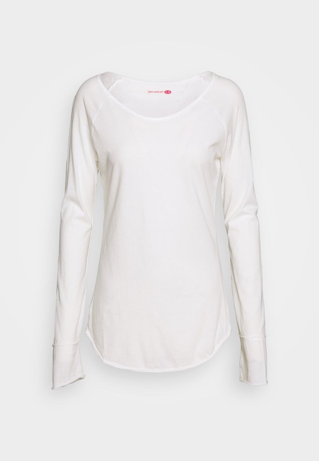 KARANI - Long sleeved top - white