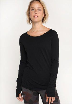 KARANI - Langarmshirt - black