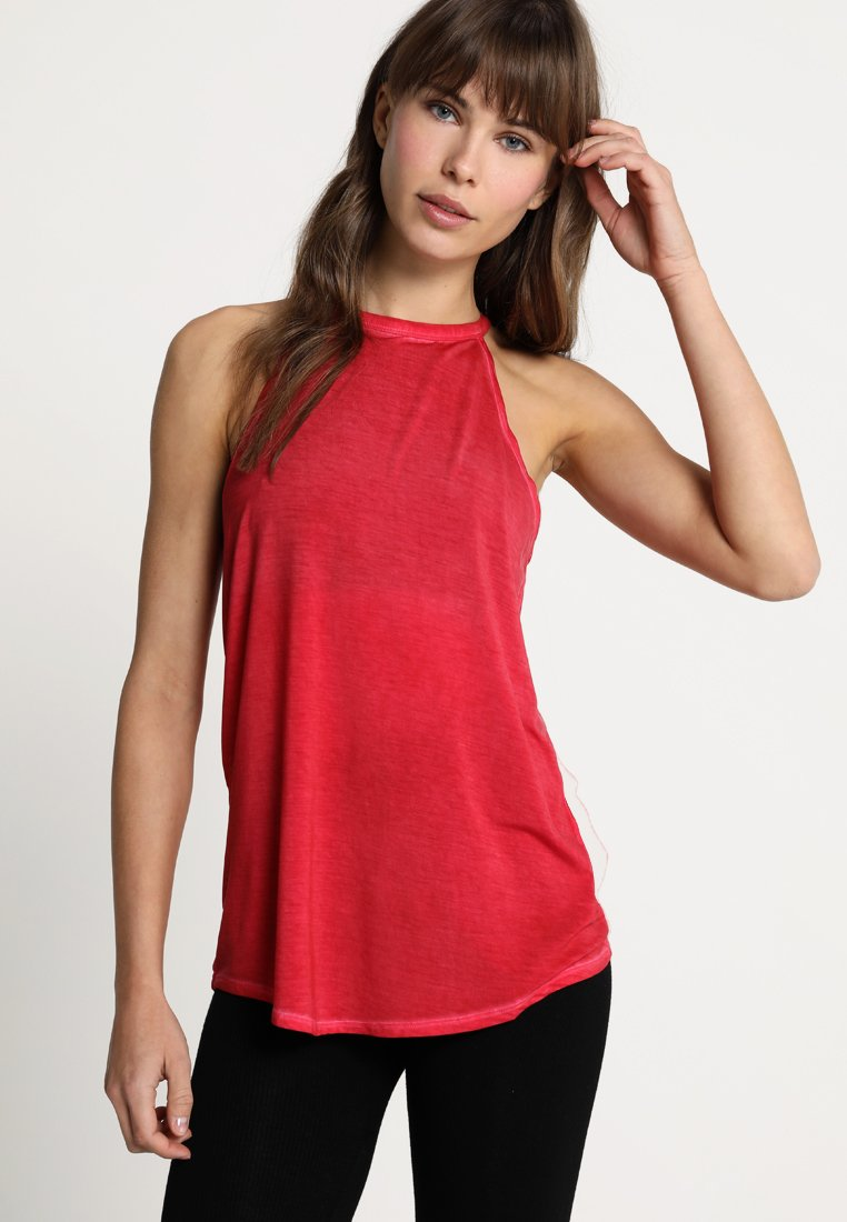 Yogasearcher - Topper - rouge
