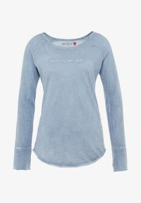 Yogasearcher - KARANI - T-shirt à manches longues - chambray - 5