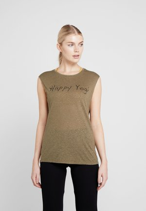 VISHNU  - T-shirt print - kaki