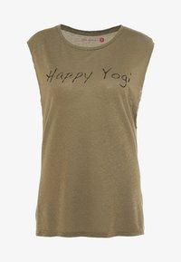 Yogasearcher - VISHNU  - Camiseta estampada - kaki - 4