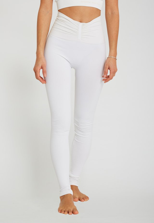 SHAPE - Leggings - white