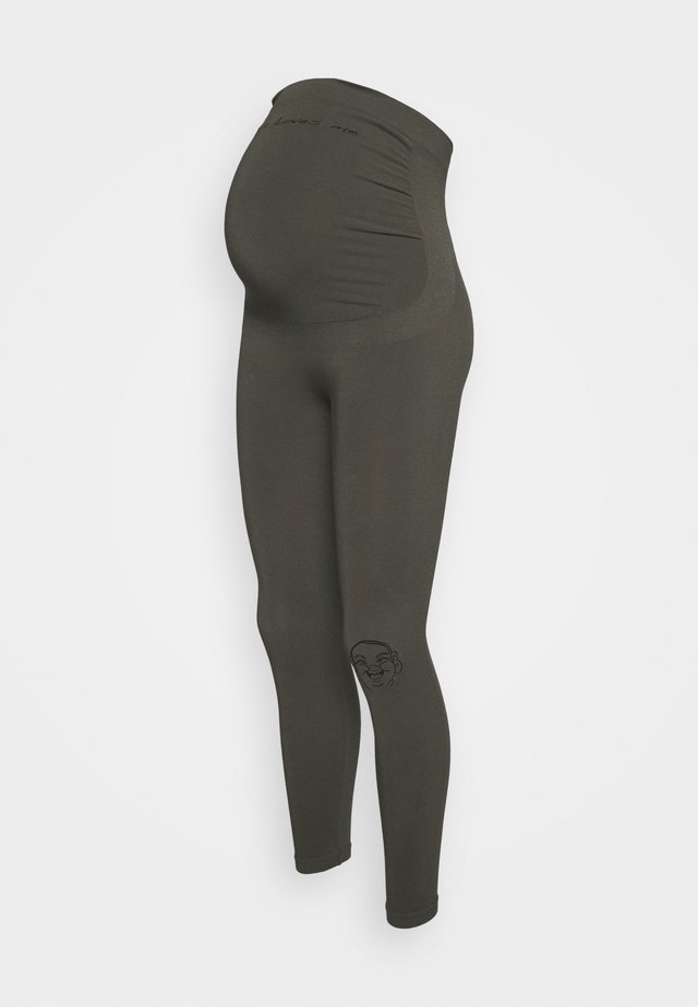 MOTHER - Tights - kaki