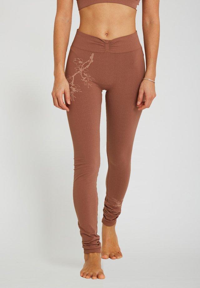 Leggings - camel