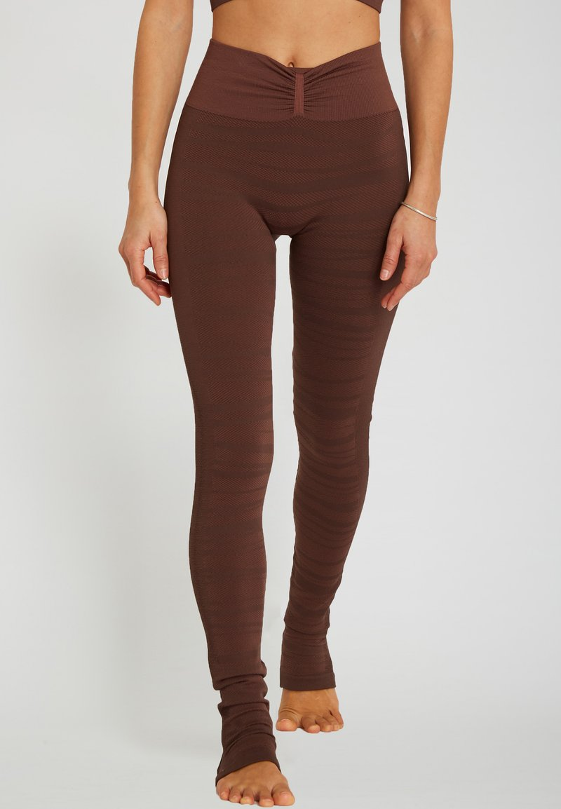 Yogasearcher - ANANTA - Legging - moka