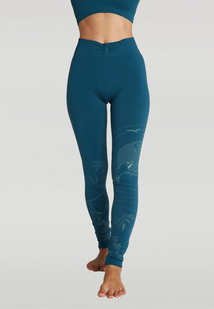 SUNSET - Legging - blue