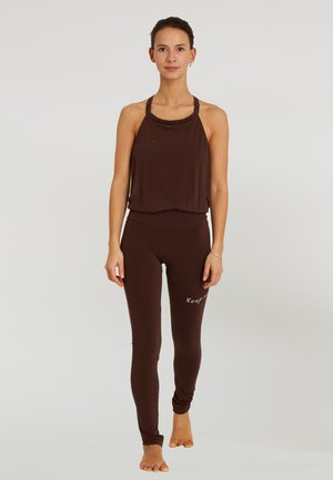 Legging - brown