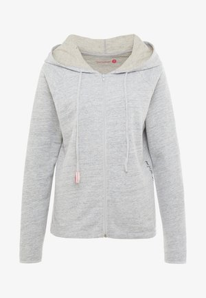 AKHARA - veste en sweat zippée - grey