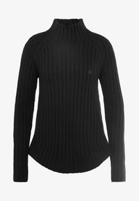 Yogasearcher - PURUSHA - Stickad tröja - black - 3