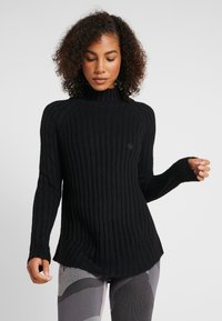 Yogasearcher - PURUSHA - Stickad tröja - black - 0