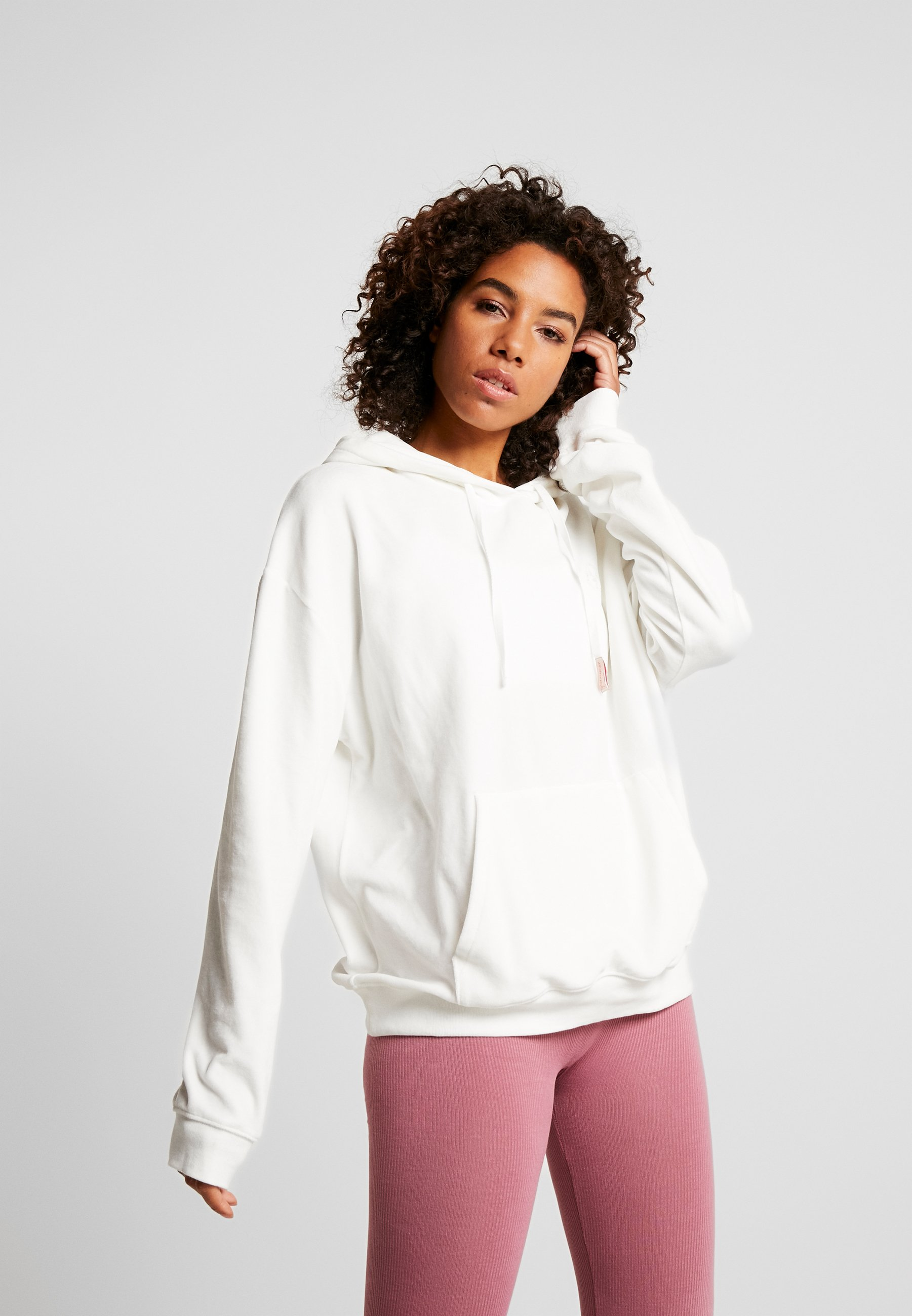 Yogasearcher ASTRAL - Bluza z kapturem - white