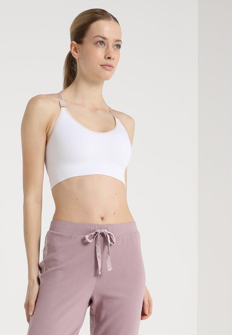 Yogasearcher - ANAHAT - Biustonosz sportowy - white