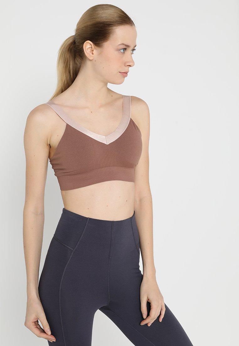 Yogasearcher - SURYA - Sports bra - muscade