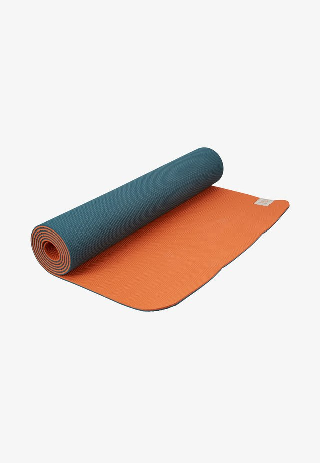 COMFORT YOGA MAT 5MM - Fitness / joga - grey/orange