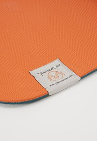 Yogasearcher - COMFORT YOGA MAT 5MM - Fitness/yoga - grey/orange - 3