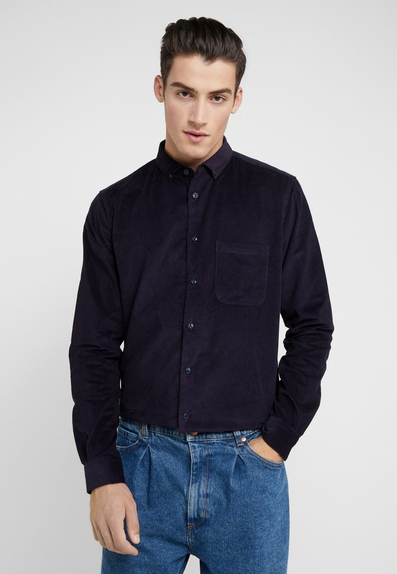 YMC You Must Create - CURTIS SHIRT - Hemd - navy