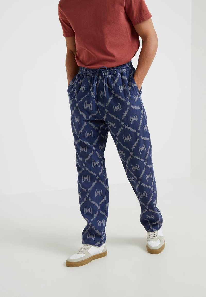 YMC You Must Create - ALVA SKATE PANT - Trousers - blue