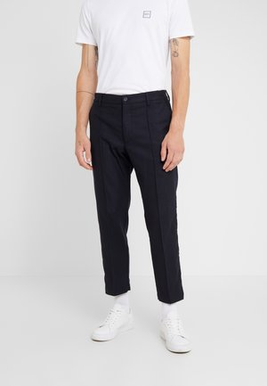 HAND ME DOWN TROUSER - Stoffhose - navy