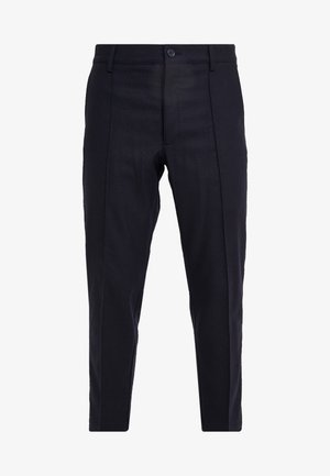 HAND ME DOWN TROUSER - Trousers - navy