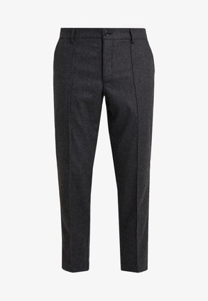 HAND ME DOWN TROUSER - Kalhoty - charcoal