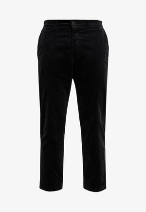 HAND ME DOWN TROUSER - Trousers - black