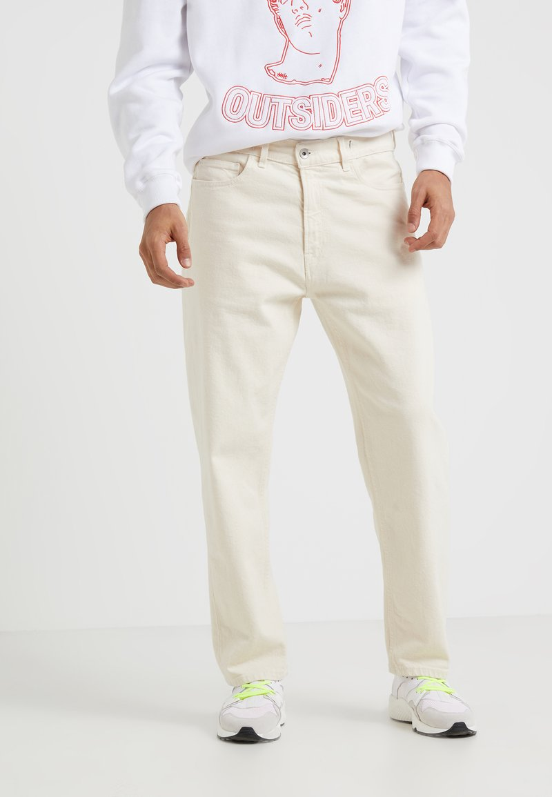 YMC You Must Create - TEARAWAY - Relaxed fit jeans - cream
