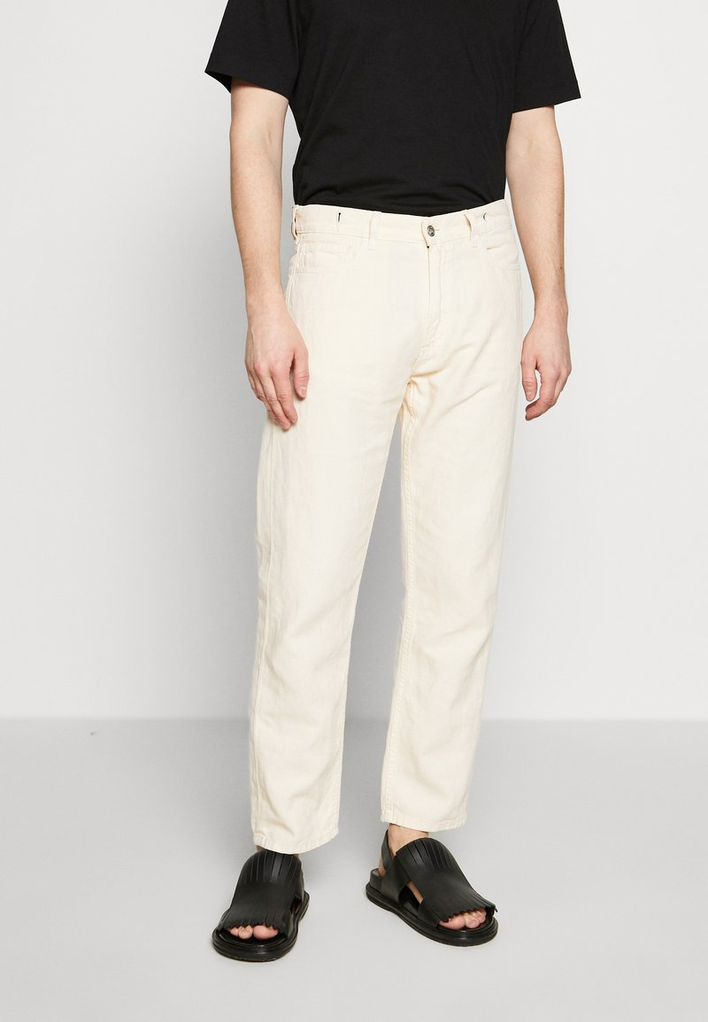 YMC You Must Create - TEARAWAY - Jeans Relaxed Fit - ecru