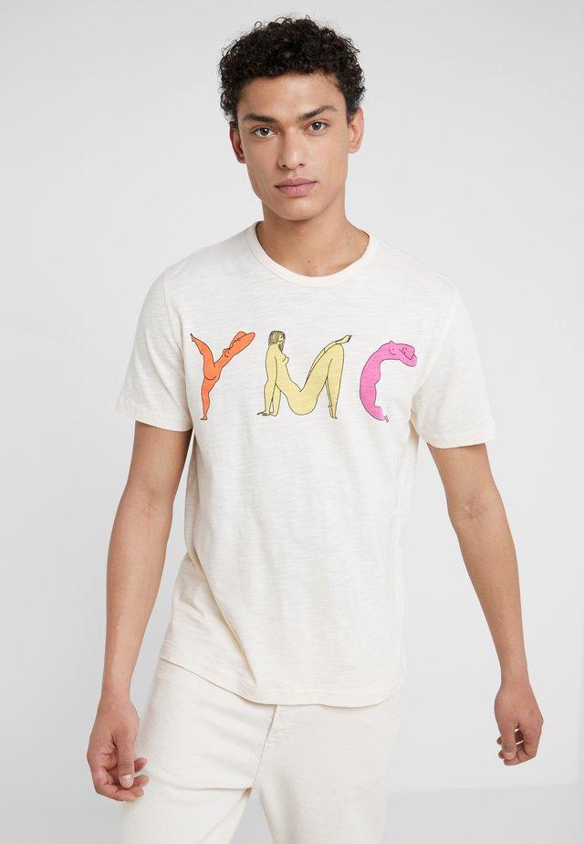 TEE - T-Shirt print - ecru