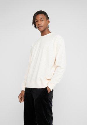 TRIPLE TOP - Long sleeved top - ecru